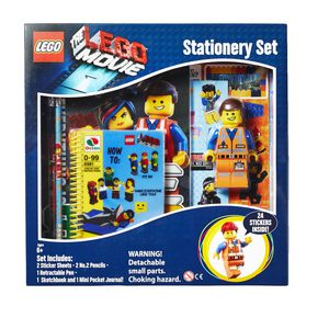 LEGO Movie Boxed Stationery Set