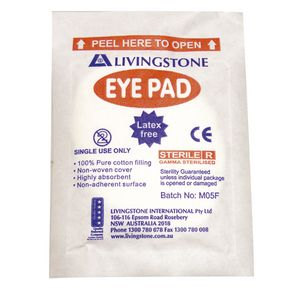 Livingstone Eye Pads 50 Pack