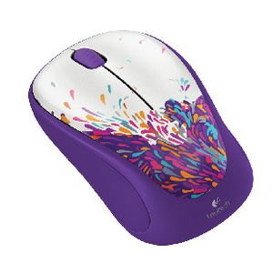Logitech M235 Exuberance Wireless Mouse