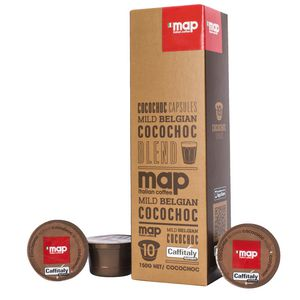 Map Mild Belgian Hot Chocolate Capsules Pack/10