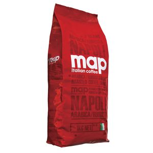 Map Coffee Beans Napoli Blend 1kg