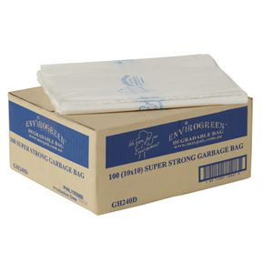 MaxValu Degradable Bin Liners 240L 100 Pack