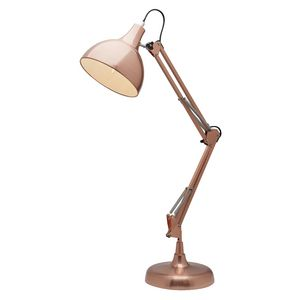 Liteworks Nash Desk Lamp Brushed Copper