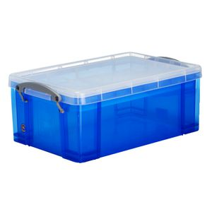 Really Useful Box 9L and Tray Blue