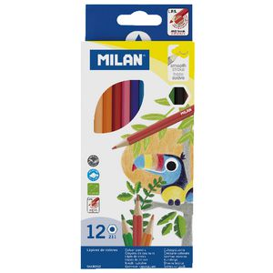 Milan 211 Coloured Pencils 12 Pack