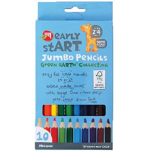 Micador early stART Jumbo Pencils 10 Pack