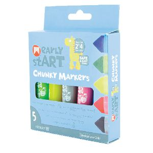 Micador early stART Chunky Markers 5 Pack