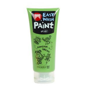 Micador Easy Wash Paint 200mL Monster Green