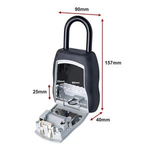 Masterlock Medium Combination Portable Key Safe