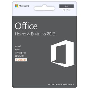 Microsoft Office Home and Business 2016 1 Mac Download