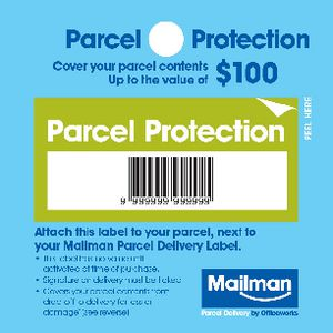 Mailman Parcel Protection Cover Up To $100