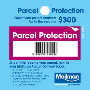 Mailman Parcel Protection Cover Up To $300