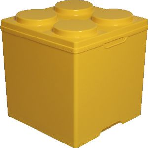 Connect Storage 35 Litre Yellow