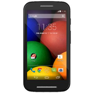 Motorola Moto E Outright Phone Black
