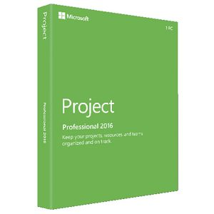 Microsoft Project Professional 2016    1 PC Download