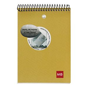 Miquelrius 104 x 150mm Notepad Kraft Cover 130 Page