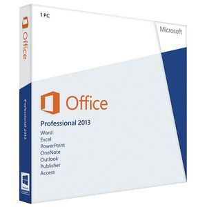 Microsoft Office Professional 2013 - 1 PC
