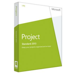 Microsoft Office Project 2013 1 PC Box