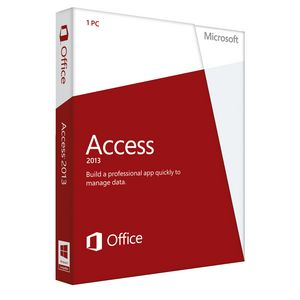 Microsoft Office Access 2013 1 PC Box