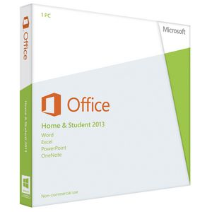 Microsoft Office Home & Student 2013 1 PC Box