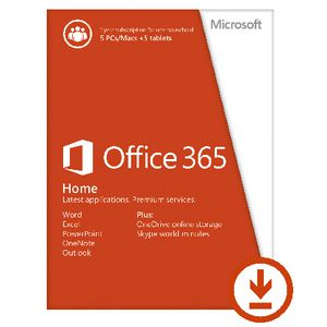 Microsoft Office 365 Home 5 Users 12 Months Download