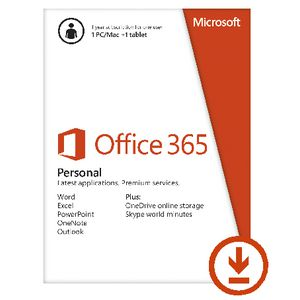 Microsoft Office 365 Personal 1 User 12 Months Download