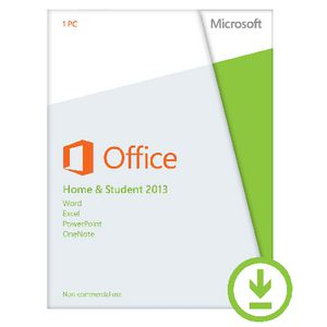 Microsoft Office Home & Student 2013 1 PC Download