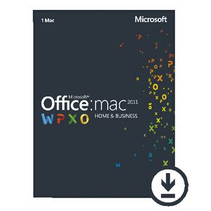 Microsoft Office Home & Business 2011 1 Mac Download