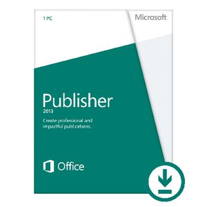 Microsoft Office Publisher 2013 1 PC Download