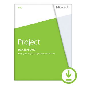 Microsoft Office Project 2013 1 PC Download