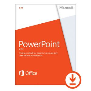 Microsoft Office Powerpoint 2013 1 PC Download