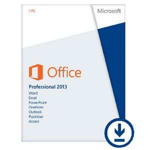 Microsoft Office Pro 2013 1 PC Download