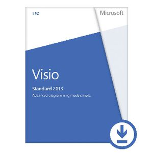 Microsoft Office Visio Standard 2013 1 PC Download