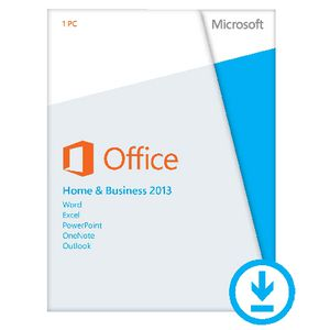 Microsoft Office Home & Business 2013 1 PC Download