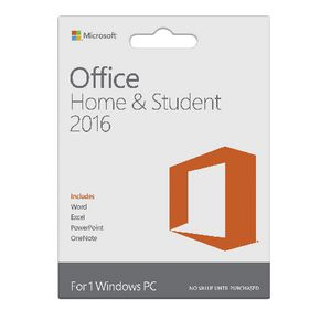 Microsoft Office Home and Student 2016 1 PC Card