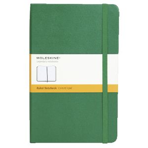 Moleskine Classic Hard Cover Ruled Large Notebook Green