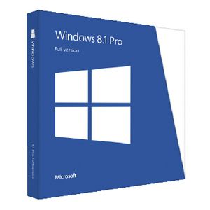 Microsoft Windows 8.1 Professional 1 PC Box