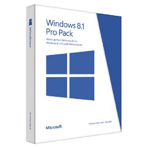Microsoft Windows 8.1 Professional Upgrade 1 PC Card