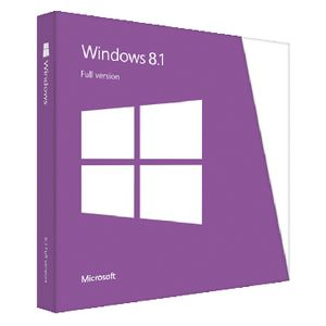 Microsoft Windows 8.1 Operating System Software DVD