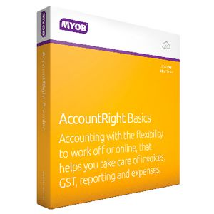 MYOB AccountRight Basic 1 PC 12 Months Download