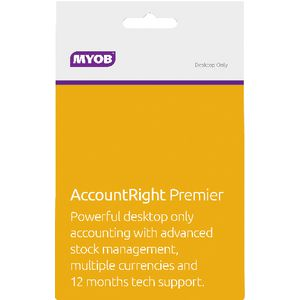 MYOB AccountRight Premier 3 PC Download Card