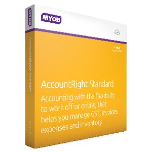 MYOB AccountRight Standard 1 PC 12 Months Box
