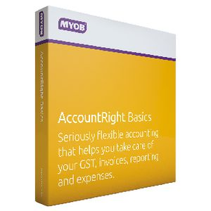 MYOB AccountRight Basics 1 PC Box