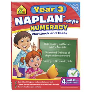 School Zone Naplan Year 3 Numeracy Workbook