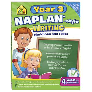 School Zone Naplan Year 3 Writing Workbook