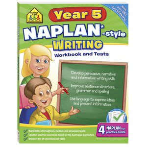 School Zone Naplan Year 5 Writing Workbook
