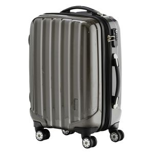 J.Burrows 71cm Upright Hard case Rolling Suitcase Graphite