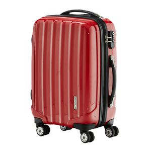 J.Burrows 71cm Upright Hard case Rolling Suitcase Red
