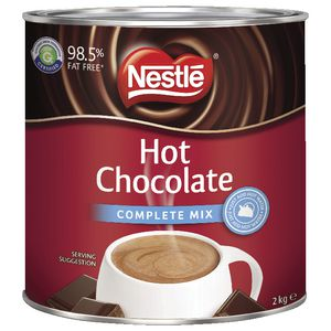 Nestlé Hot Chocolate Complete Mix Tin 2kg