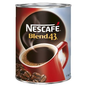 Nescafe Blend 43 Instant Coffee 1kg 6 Pack